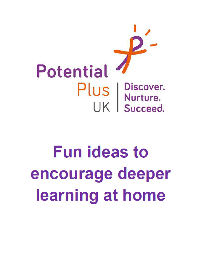 fun ideas to encourage deeper learning at home downloadable pdf