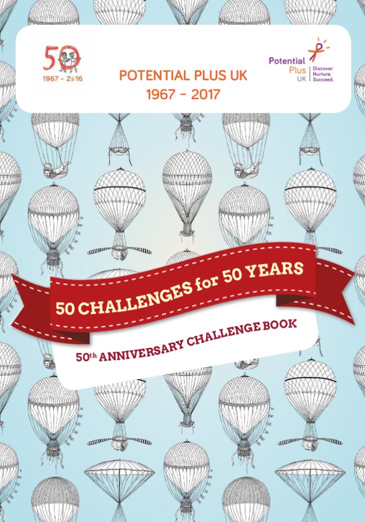 50th Anniversary Challenge Book
