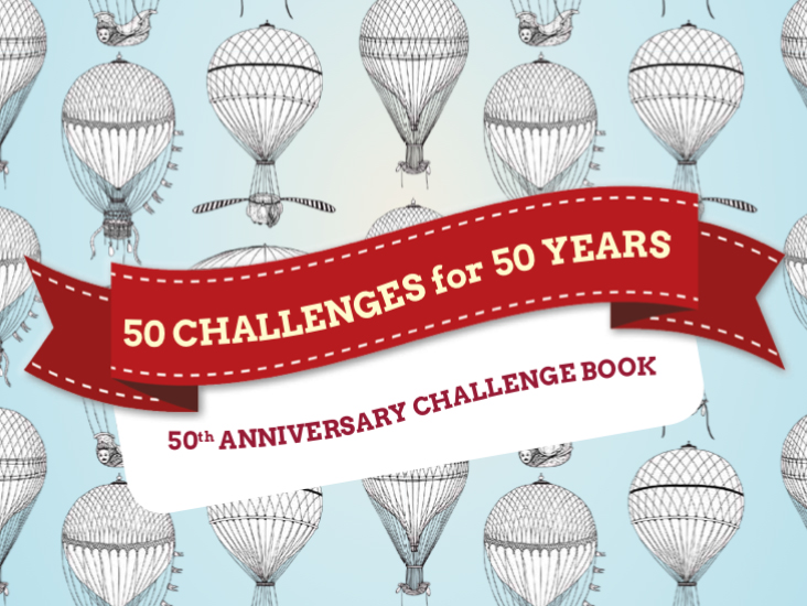 50th Anniversary Challenge Book