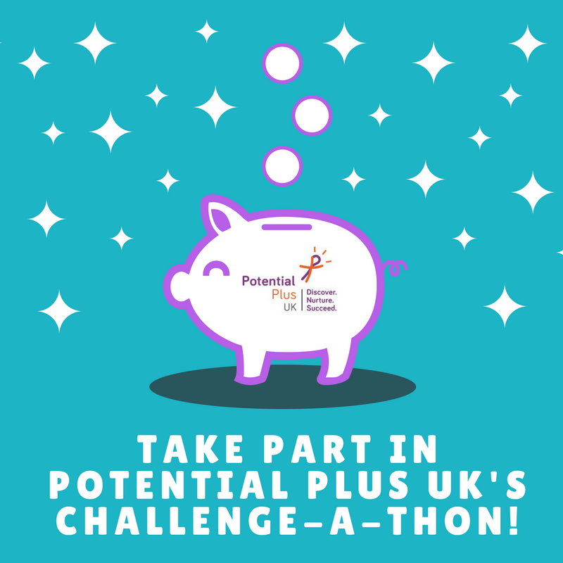 Take Part In Potential Plus Uk's Challenge-A-Thon