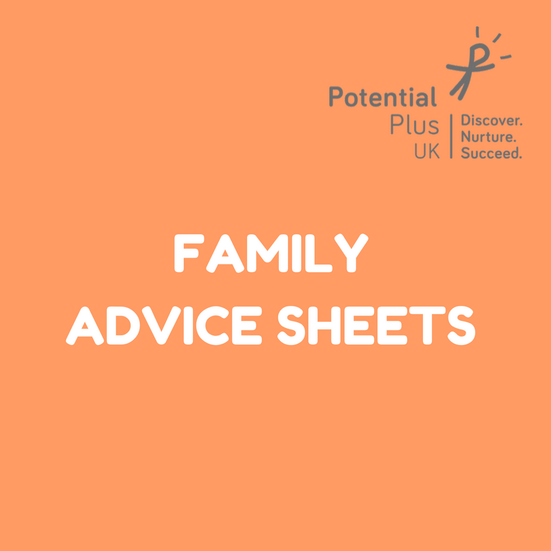 Family Advice Sheets