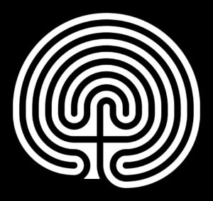A classical seven ring designed Cretan labyrinth