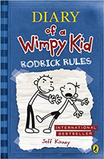 Jeff Kinney Diary of a Wimpy Kid - Roderick Rules