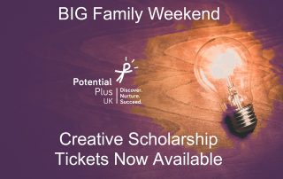 Big Family Weekend Creative Scholarship Tickets