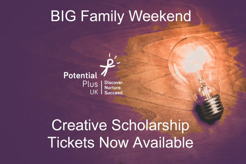 Big Family Weekend Creative Scholarship Tickets