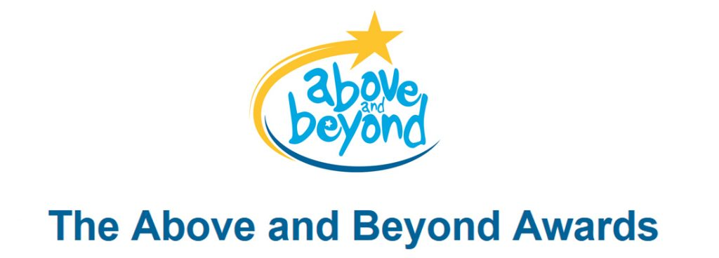 Above and Beyond Awards