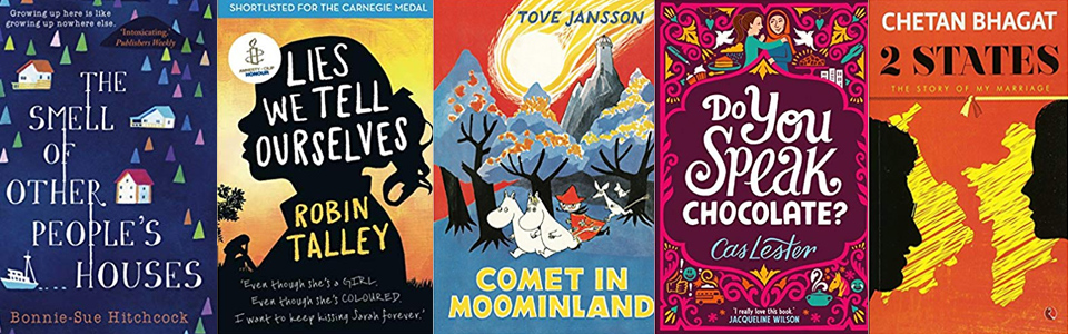 Covers of Books reviewed by Iona Mandal