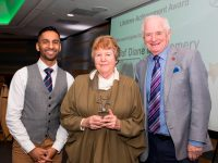 Above and Beyond Awards 2019. Bobby Seagull - Lifetime Achievement Award winner, Professor Diane Montgomery - Johnny Ball