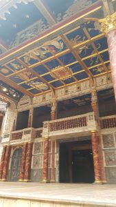 Globe Theatre Stage, heaven and earth