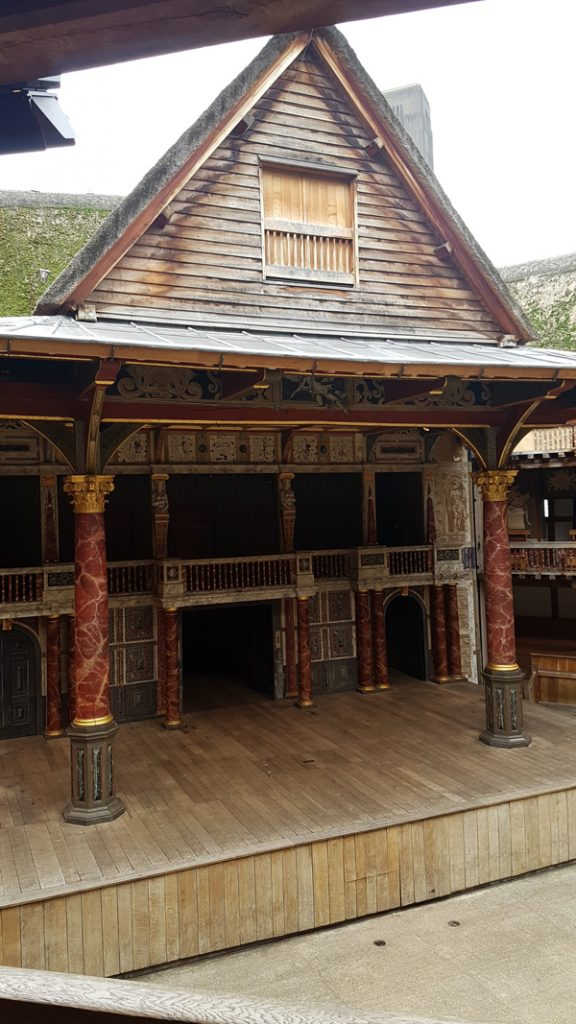 The Globe Theatre Stage