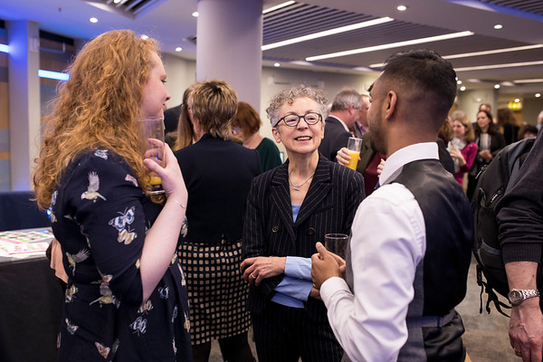 The Above and Beyond Awards February 11th, 2019. Catherine McEvoy, Joy Morgan and Bobby Seagull