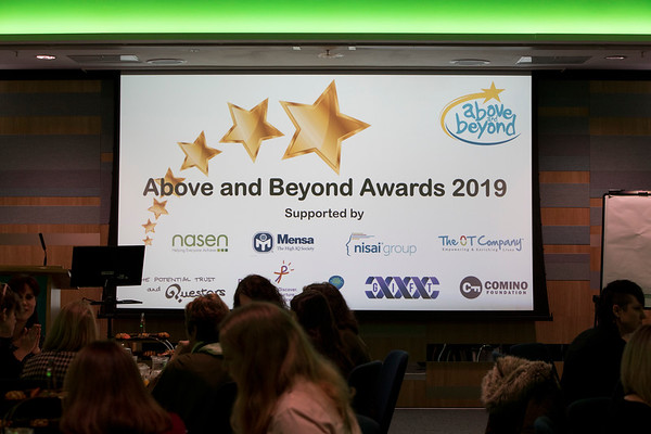The Above and Beyond Awards February 11th, 2019. Copyright Sam Carpenter.