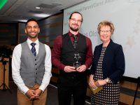 Above and Beyond Awards 2019. Bobby Seagull - Inspirational Parent/Carer Award winner James Oldfield - Julie Taplin