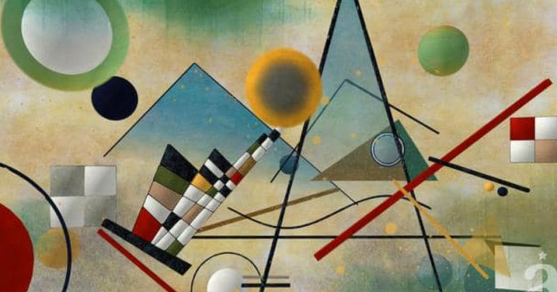Abstract by Kandinsky - part of video by Alfred Imageworks: STEREOSCOPIC FOR EXHIBITION – KANDINSKY