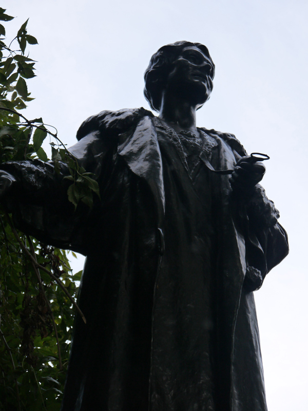 Emmeline Pankhurst Statue in Victoria Towers Gardens