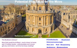 Potential Plus UK on the Move, Radcliffe Camera