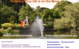Potential Plus UK on the move - Bletchley Park Lake