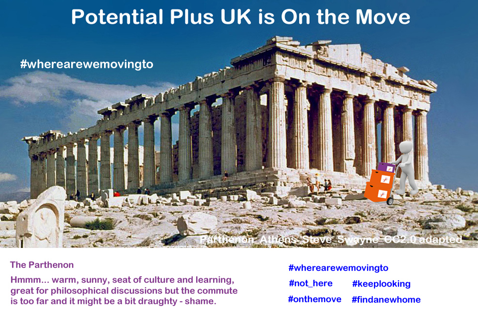 Adapted photograph of Parthenon, Athens from CC2.0 photo by SteveSwayne