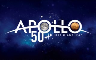 Apollo 50th NASA Logo