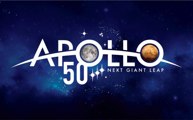 Apollo 50th NASA Logo