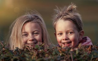 2 children by Lenka Fortelna