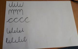 Handwriting Patterns - C