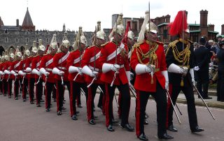 Horseguards parading at Garter Day 2019