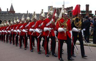 Horseguards parading at Garter Day 2019