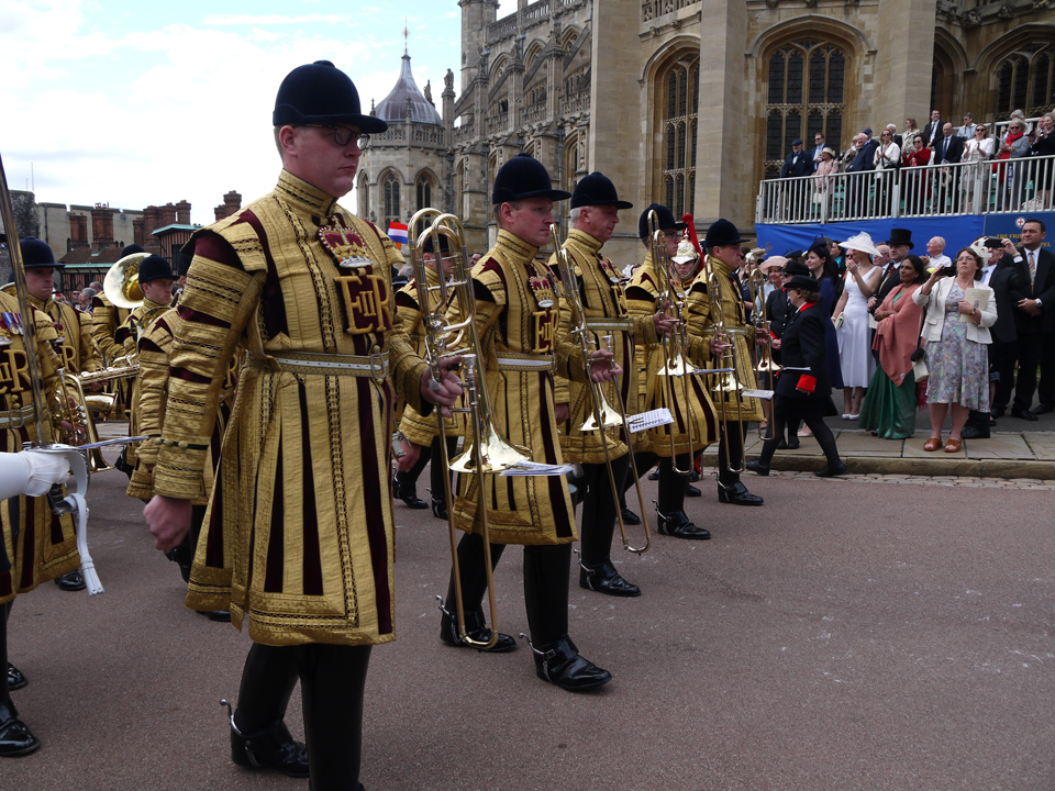 Household Cavalry Band Garter Day 2019