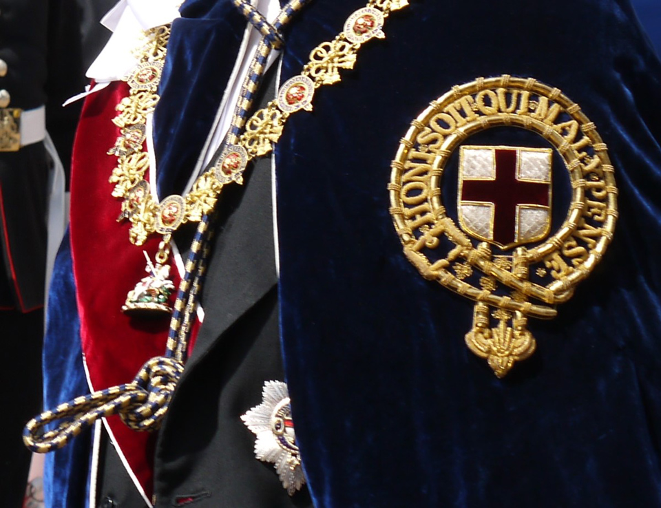 Jewel and Badge of the Order of the Knights of the Garter