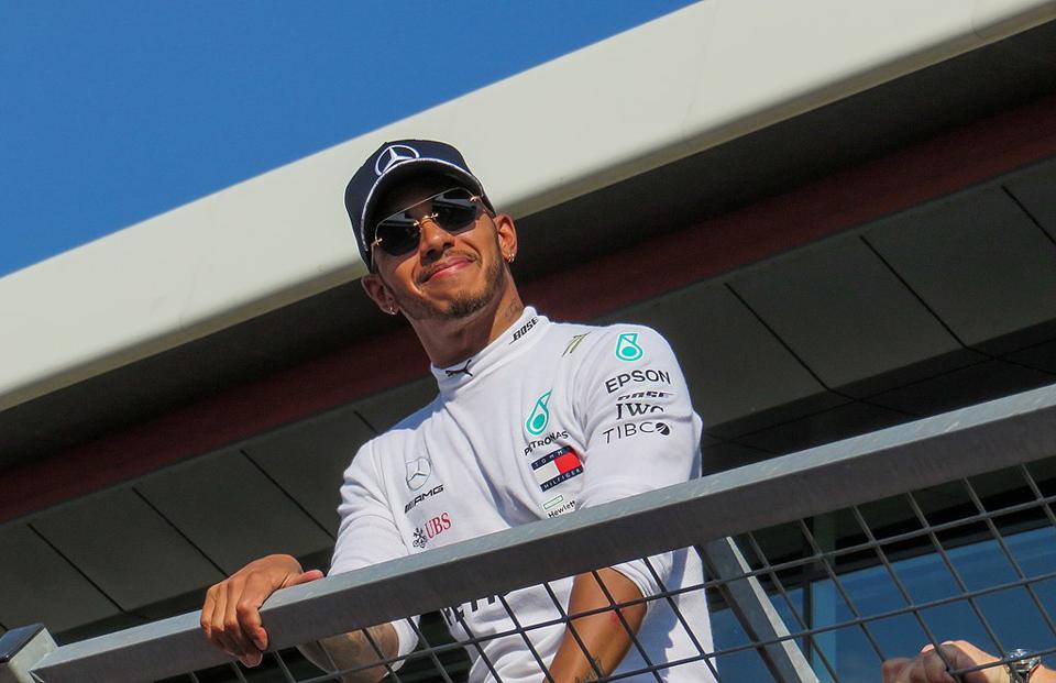 Lewis Hamilton at Silverstone Grand Prix 2018