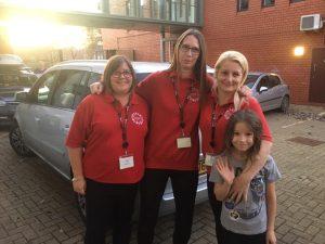 JoJo and the Happy Hands PreSchool Team at Potential Plus UK's BIG Family Weekend, 2019