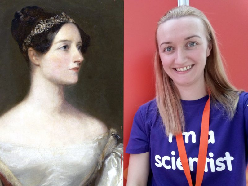 Ada Lovelace and Emma Markham