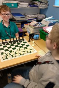 boys playing chess Potential Plus UK's BIG Family Weekend, 2019