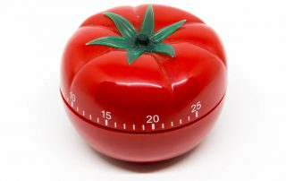 Pomodoro tomato timer photo by Marco Verch
