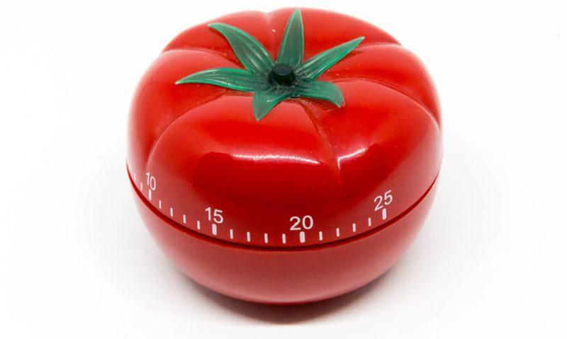 Pomodoro tomato timer photo by Marco Verch