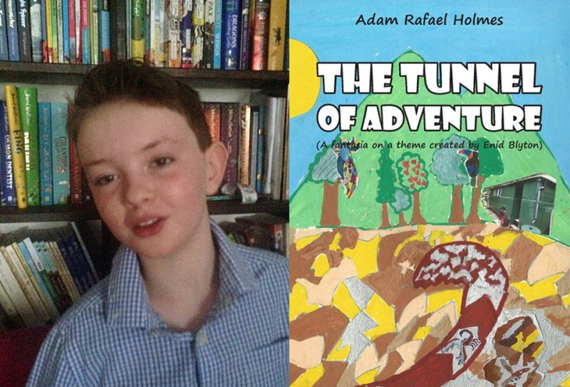 Adam Rafael Holmes, and his book Tunnel of Adventure