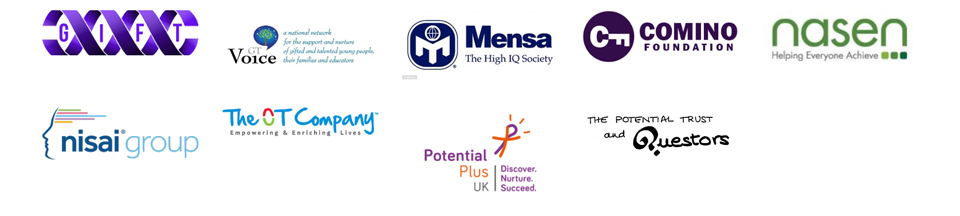 Logos of the Above and Beyond Awards Organisations