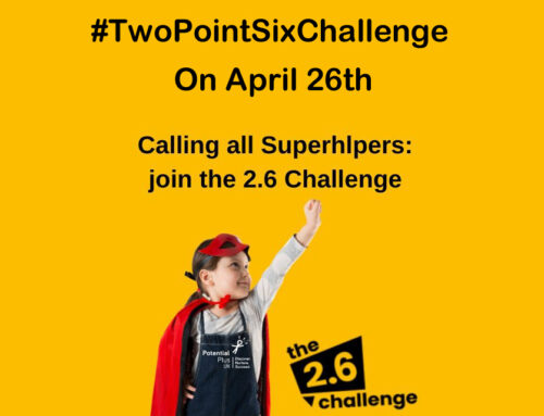 Calling All Superheroes: Get Involved in the 2.6 Challenge