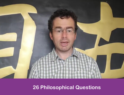 The 2.6 Challenge – Jason Buckley Asks 26 Philosophical Questions in 2.6 minutes