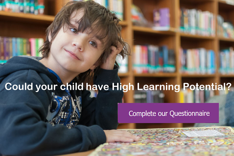 Could your child have high learning potential