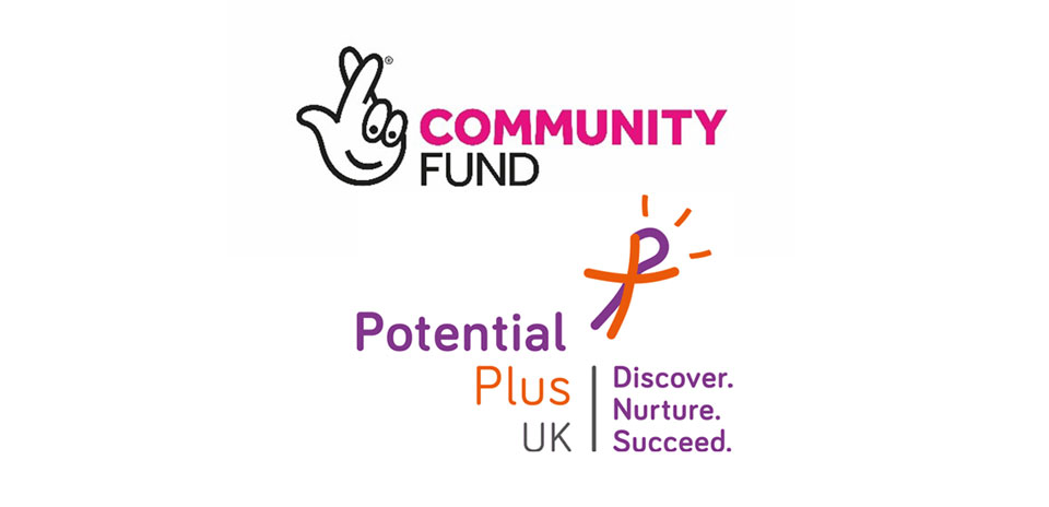 Community fund and Potential Plus UK Logos