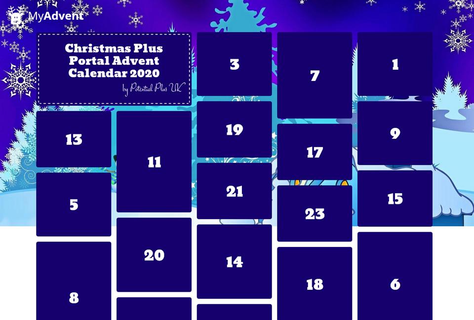 Detail of Christmas Plus Portal Advent Calendar