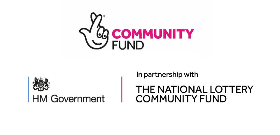 Community Fund and HM Government/National Lottery Community Fund Logos