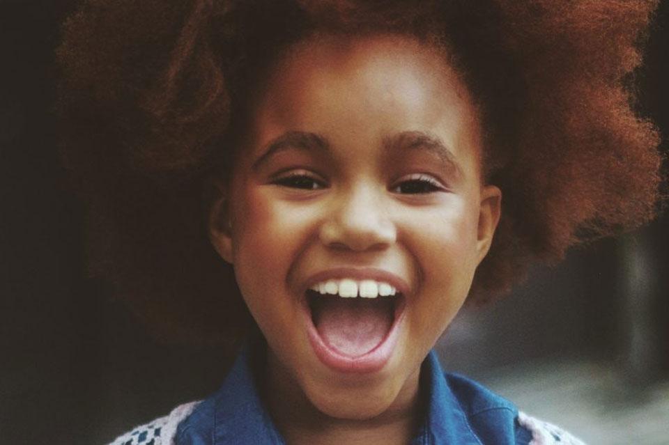Joyful young girl
