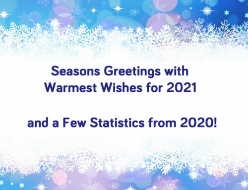 Seasons Greetings and a Few Statistics from 2020!