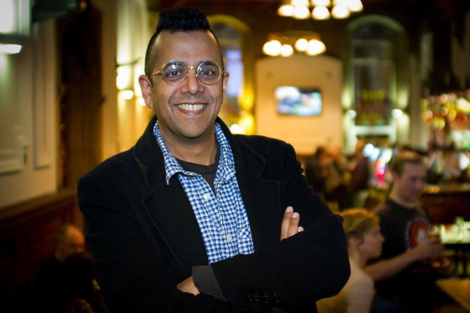 Simon Singh at the Merseyside Skeptics Society