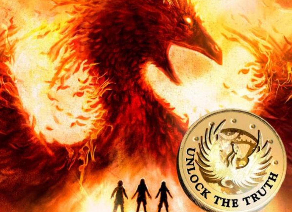 Phoenix - cover of novel Secret Breaker
