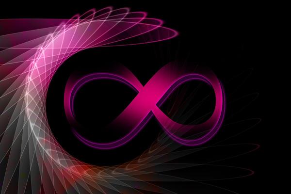stylised infinity symbol