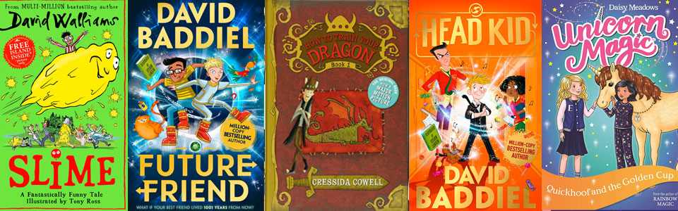 5 book covers